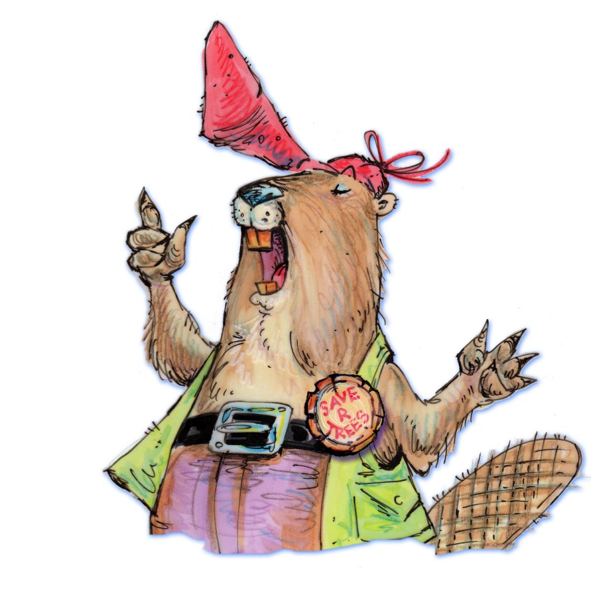 mouthy beaver